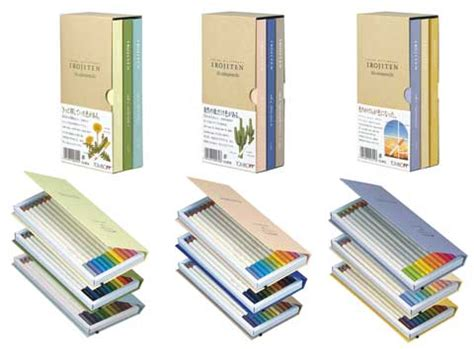 irojiten colored pencils irojiten 30 color colored pencil sets by tombow