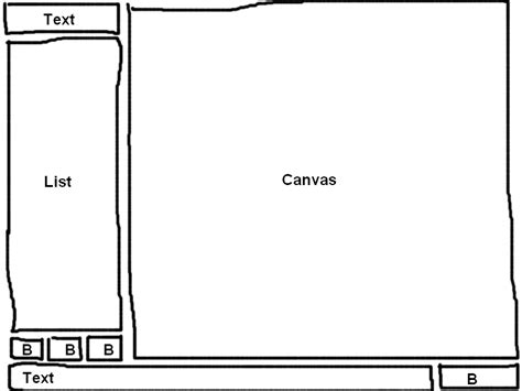 html layout overflow css composed html layout with space filling elements