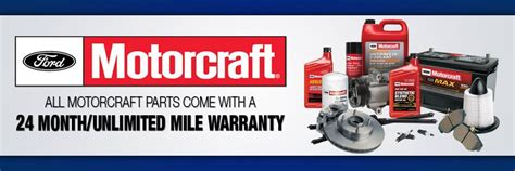 Ford Motorcraft Parts by The New Motorcraft Warranty