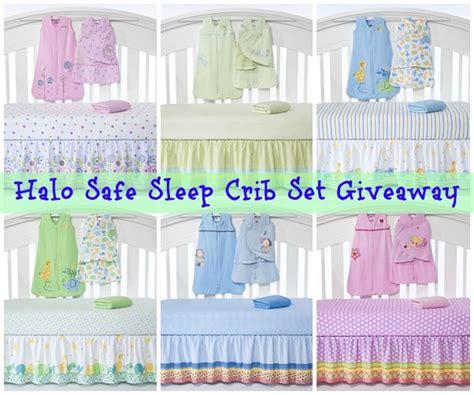 Halo Giveaway - halo safe sleep crib set giveaway babygifts