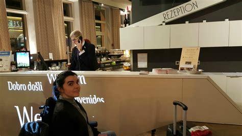 Boutique Reception Desk Boutique Hotel Donauwalzer Wheelchair Accessible Hotel In Vienna