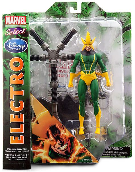 Electro Proof Marvel Avangers Custom Figure electro marvel select figure exclusive at