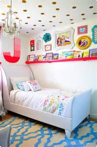 Rainbow Bedding For Girls by Coral Gold And Aqua S Bedroom Reveal