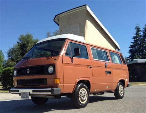 volkswagen westfalia all original 1983 vw vanagon westfalia cer for sale