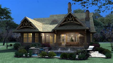 Bungalow Cottage Craftsman Tuscan House Plan 65870 Tuscan Cottage House Plans