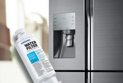 reset samsung water filter replace and reset the water filter on your 4 door flex
