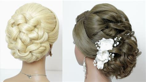 Bridal Hairstyles For Hair Tutorial by 2 Wedding Hairstyles Updos For Medium Hair Tutorial