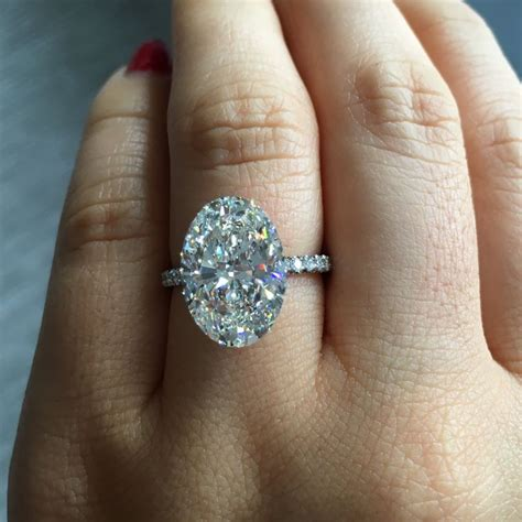 25 best ideas about oval solitaire engagement ring on