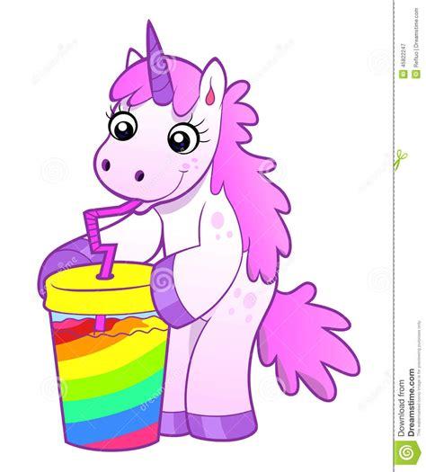 imagenes de unicornios bebes reales el unicornio bebe el c 243 ctel del arco iris ilustraci 243 n del