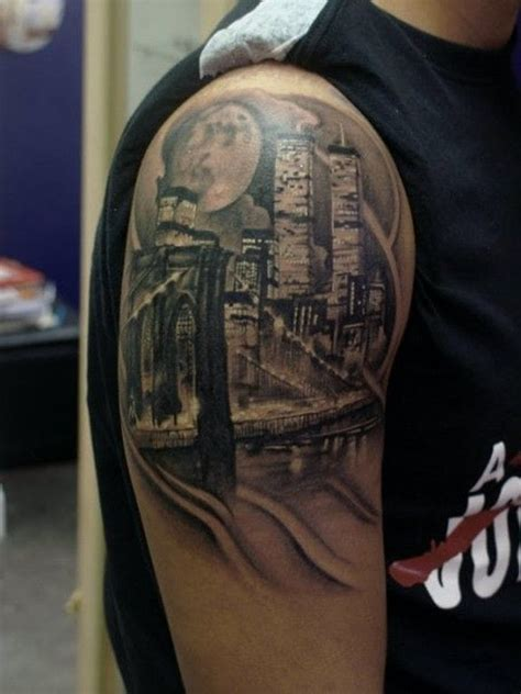 twin city tattoo 35 impressive architecture tattoos tattoodo