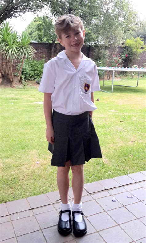 sissy boy school dress us boys have to be girls at school today as part of our