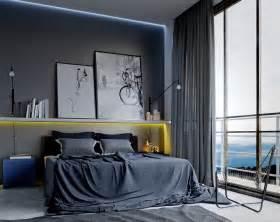cool mens schlafzimmer d 233 co masculine pour votre chambre deco tendency