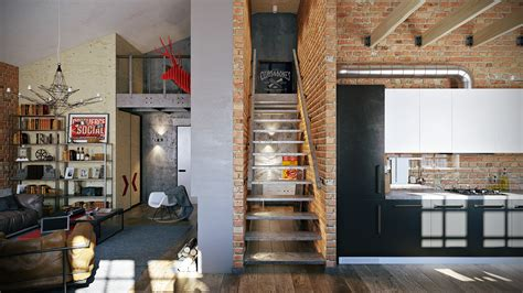 loft layout ideas 3 stylish industrial inspired loft interiors
