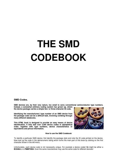vishay diode marking code smd catalog
