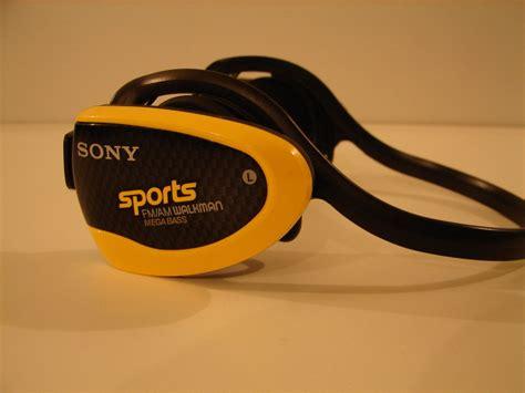Headset Sony Mega Bass Sony Sports Srf H5 Am Fm Radio Stereo Mega Bass Headphones
