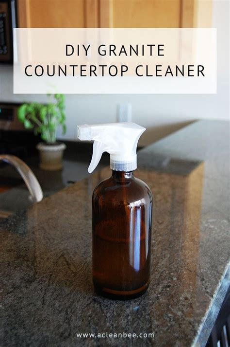 Cleaner For Granite Countertops by 25 Best Granite Cleaner Ideas On