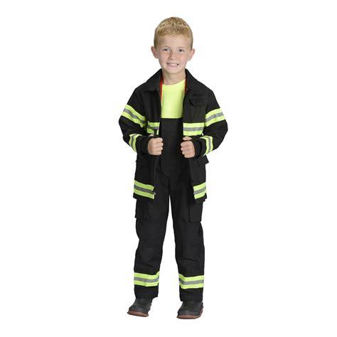 jr fighter fireman suit boys costume