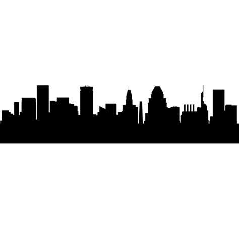 New York Wall Stickers baltimore maryland skyline decals wall decor baltimore