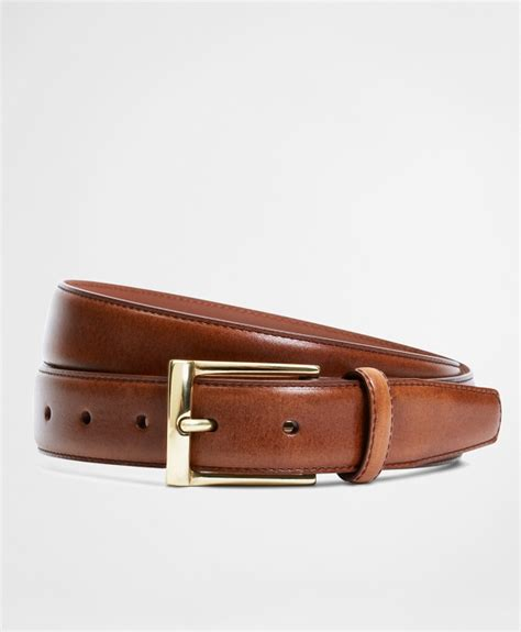 silver buckle dress belt brothers