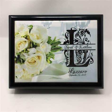Wedding Jewelry Box by Memory Box Wedding Jewelry Box Wood Keepsake Box Wedding