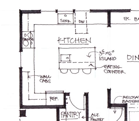 kitchen plans with island the glade a la carte kitchen let s face the music