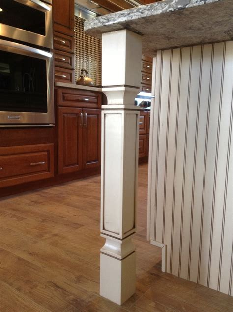 Kitchen Island Leg | craftsman style kitchen island leg ideas for the house