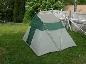 Sears Cabin Tent by Sears Tent Set Up