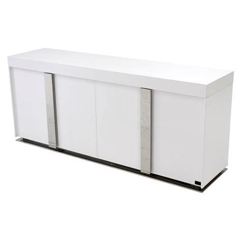 White Gloss Buffet Grand White Gloss Buffet El Dorado Furniture