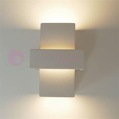 applique gesso applique ceramica gesso cubo lungo rettangolare design moderno