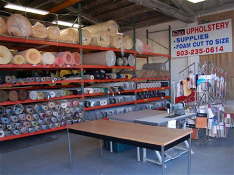 Upholstery Supplies Portland Oregon by In Ex Upholstery In Portland Oregon