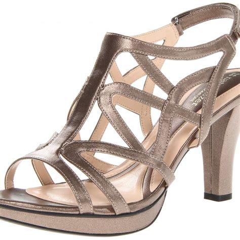 naturalizer danya sandal naturalizer danya dress sandal nickel alloy metallic