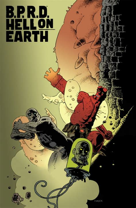 b p r d hell on earth 116 richard corben variant cover b p r d hell on earth 116 preview horror news network the horror news you need