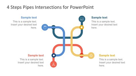 piping layout design ppt pipe intersection powerpoint graphic vectors slidemodel