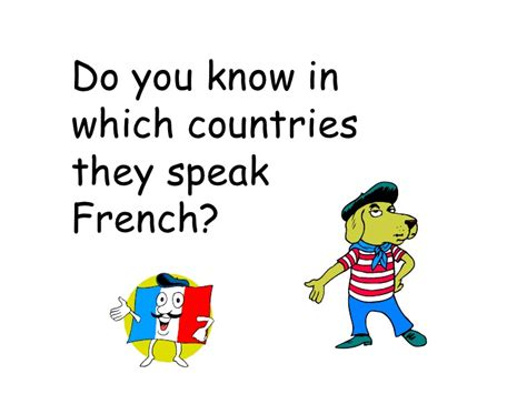 which countries speak les pays francophones et le fraicais