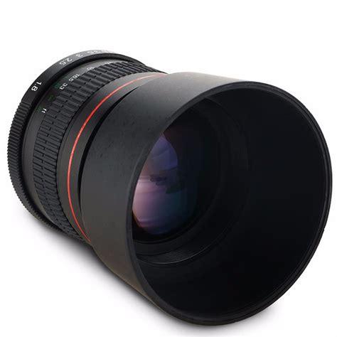 Lensa Nikon 85mm F 1 8 lensa kamera telephoto medium manual 85mm f 1 8 untuk nikon black jakartanotebook