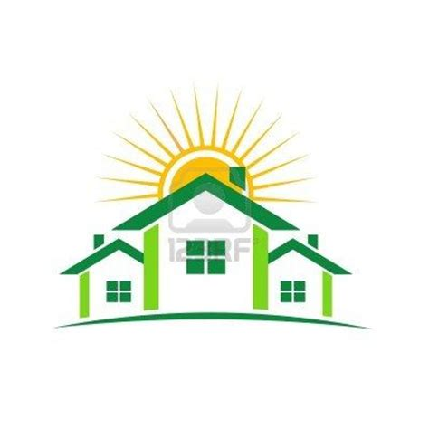 house logo icon real roof vector home swoosh building element