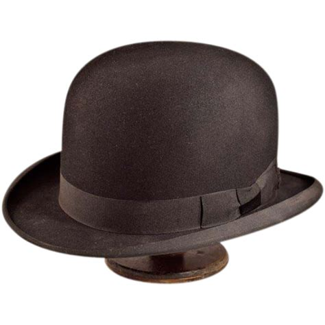 glamorous hats galore avenue magazine dapper high quality dobbs fifth avenue vintage bowler from