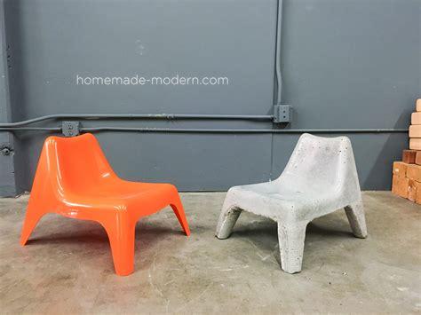 HomeMade Modern EP100 DIY Concrete Chair