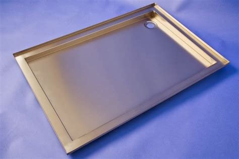stainless steel bathroom tray modern alternative stainless steel shower tray