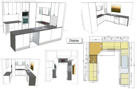 Layout Kitchen Design Design Plans Visualisations Kitchen Creations Custom Kitchen Designers Speciality