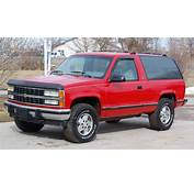 1992 Chevrolet Blazer Photos Informations Articles