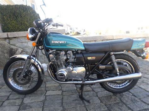 1977 Suzuki Gs750 1977 Suzuki Gs750 Cafe 1st Year Gs Attention Collectors