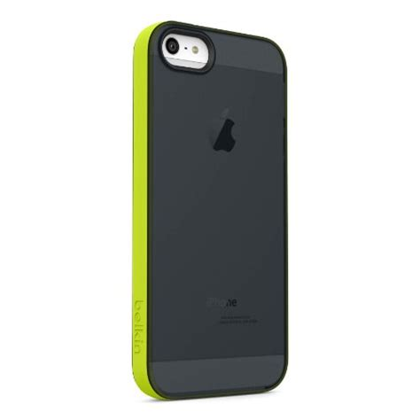 Grip Color Iphone 66s Sku002159 belkin grip sheer cover for iphone 5 and 5s black green price shear tech steel