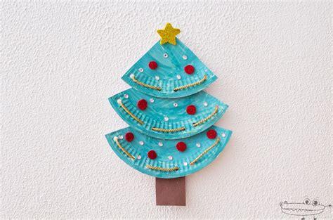 arboles de navidad manualidades infantiles 193 rbol de navidad con platos de papel manualidades infantiles