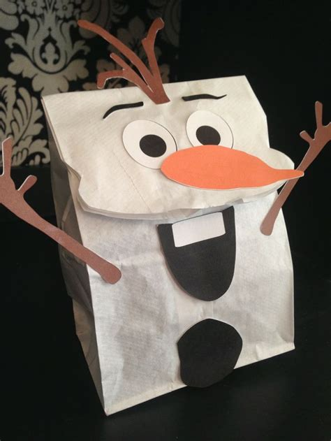 Paper Bag Snowman Craft - 1000 ideas about paper bag crafts on fall