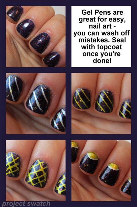tutorial nail art penna stilografica gel pen nail art musely