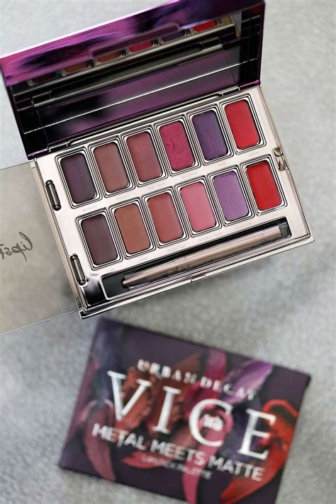 Decay Vice Palette decay reviews swatches and pictures on makeup and
