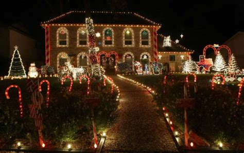 neighborhood christmas lights display houston chronicle