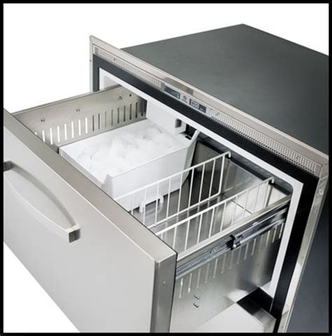 Freezer Drawer With Maker by Dw360btx Im Integral Compressor Stainless Fridge With 2x