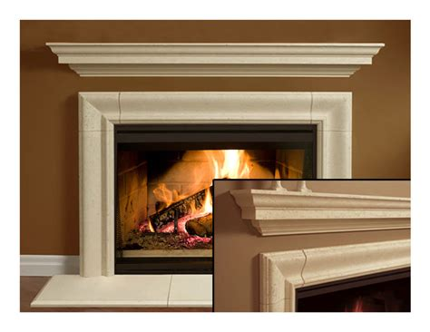 L Mantle by Fireplace Mantel Mantle Surround Simplicity Design Cast